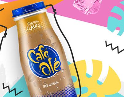 Café Olé Ads