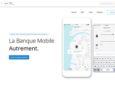 DIY Project : Digital Banking App + Website