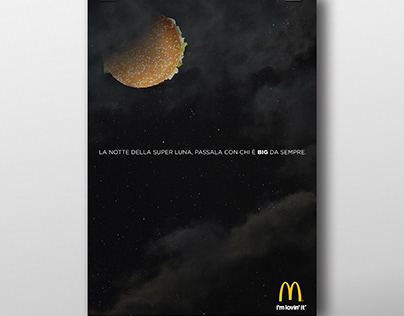 Mc Donald's superluna //exerc instant adv & activation