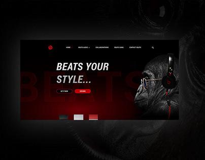 Beats new website
