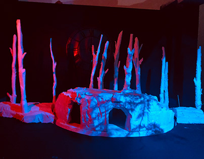 Theatre Scale model - Into The Woods .