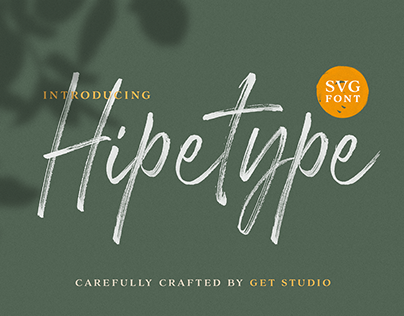 Hipetype SVG Font