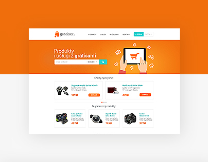 Gratiser.pl - website with freebies