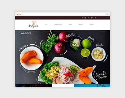 Diseño web para La Mulata Restaurant