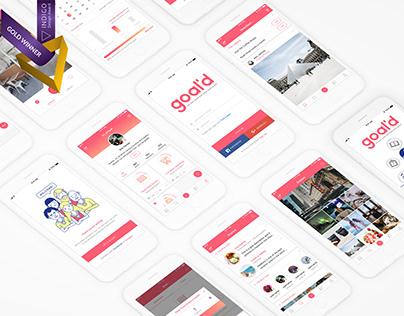 Goal'd: Goal-sharing application