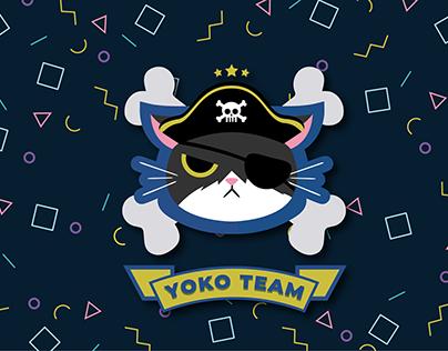 Redesign Identidade Visual - Yoko Team