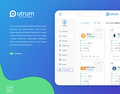 Utrum Crypto Playbook