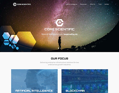 Core Scientific - Drupal 8 website redesign
