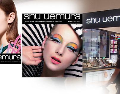 """Website - Design """"SHU UEMURA"""""""