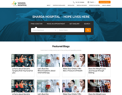 Sharda Hospital Blog