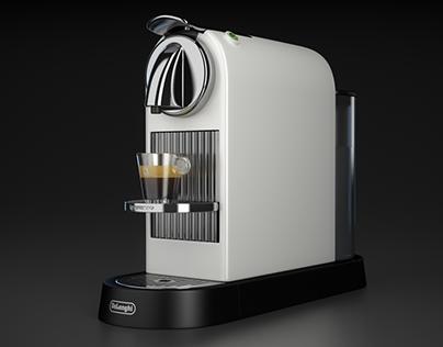 DeLonghi Citiz Nespresso Coffee Machine