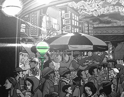 Chinatown subway