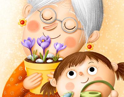 Grandmother - babička