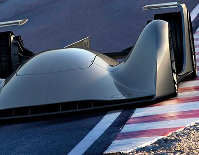 N.01 Race Car Concept - A'Design Award Winner