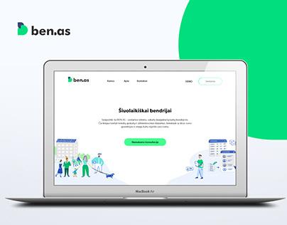 BEN.AS   Identity & Web Design