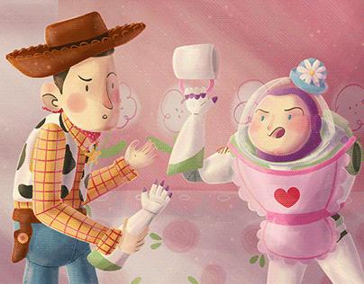 Mrs. Nesbitt - Toy Story