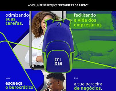 Trixia - Assessoria Empresarial (Brand Identity)