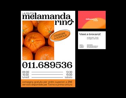 Mela Mandarino — visual identity
