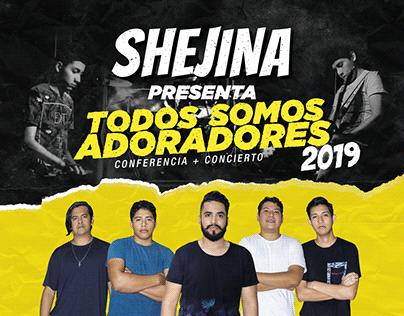 Shejina - Todos Somos Adoradores 2019
