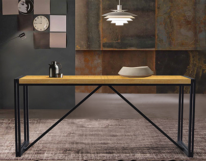 Table, industrial style