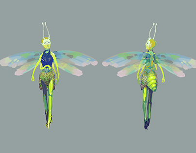 Character Concept: Fairy