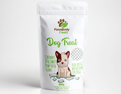 Dog Treat Packaging Design