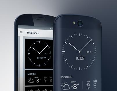 YotaHub app for YotaPhone2
