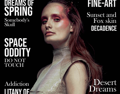 Space Oddity / Marika Magazine Issue #159 August 2020 /