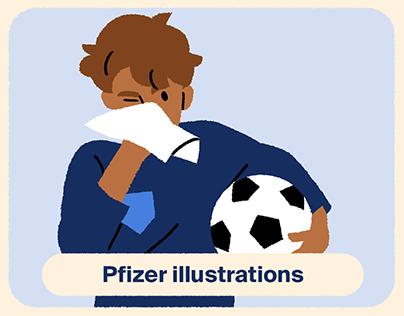 Pfizer illustrations