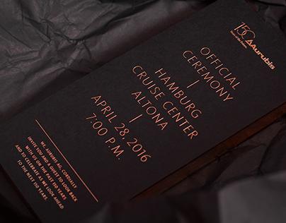 Aurubis – Einladung: Festakt zum 150-jährigen Jubiläum