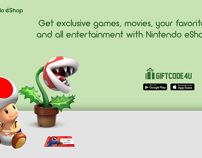 Enhance your gaming experience with a Nintendo eShop.