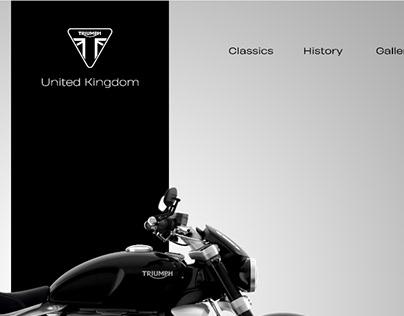 Triumph Rocket 3 Web UI Concept