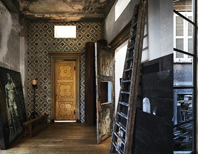 House-studio of Luca Pignatelli