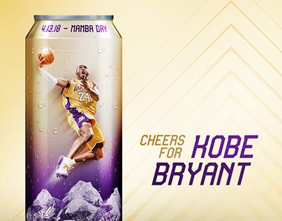 Cheers for Kobe Bryant - Mamba day artwork