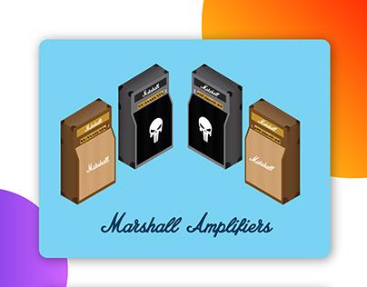 Marshall Isometric Amp & Cabinet
