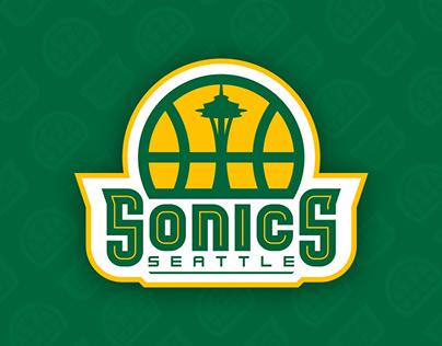 Seattle Sonics Identity Concept