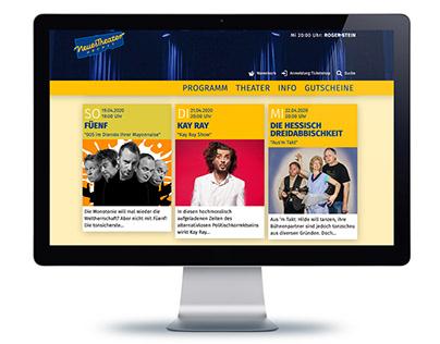 Webdesign | Neues Theater Höchst