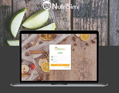 Nutrisim Website