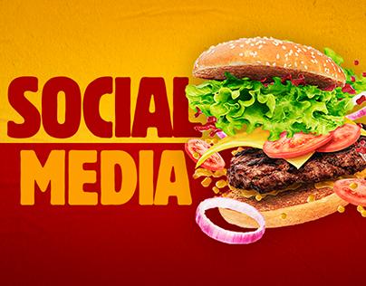 Social Media | Burger