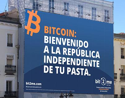 Bit2Me Bienvenidos a Bitcoin