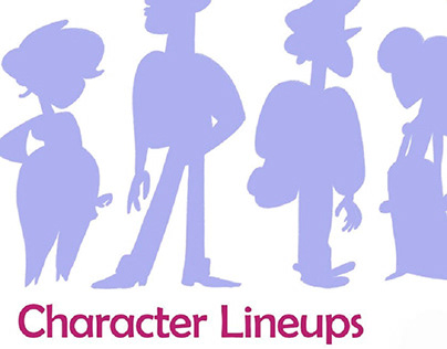 Character Design miscellaneous - Shows that I love