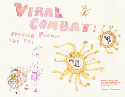 Viral Combat (The Illustrations)