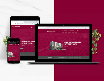 Variampally Homes Website