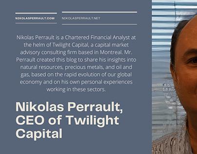 Meet Nikolas Perrault, CEO of Twilight Capital