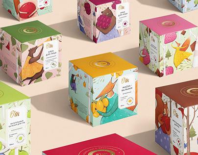 OLIS / cosmetic packaging
