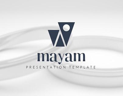 Mayam Creative Powerpoin & Keynote Templates
