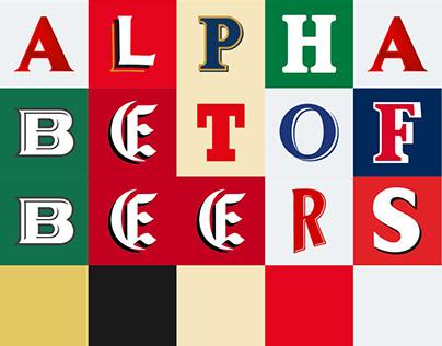 Alphabet of beers