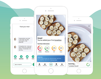 QuickBite - AR & AI assisted nutrition tracking app
