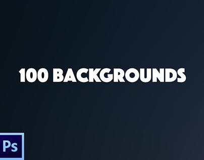 100 Backgrounds / Freebie