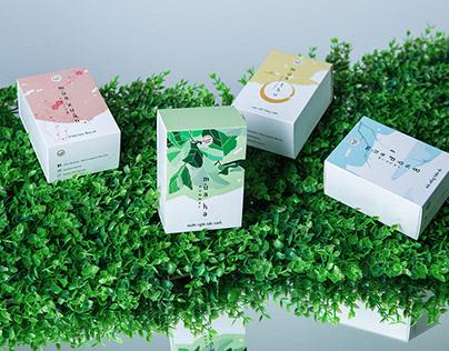 4 Seasons Mooncake Packaging
